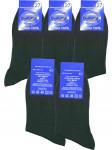 Мужские носки Кондор C 710 хлопок 100% чёрные