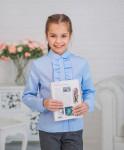 Блуза для девочки    Модель 01/8-д