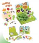 Детский развивающий набор для выращивания Весёлая грядка