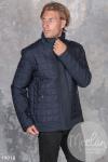 Мужская куртка 19918 синий