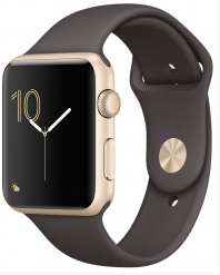 Apple Watch Series 1 42mm with Sport Gold Cacao