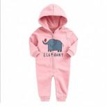 """Комбинезон Minizone """"Elepfant"""" розовый"""