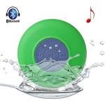 Водонепрониц. беспроводная Bluetooth колонка для душа зелена