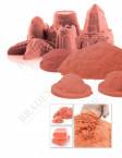 Песок для игры «ЧУДО-ПЕСОК» 1 кг оранжевый