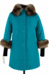 05-0723 Куртка зимняя (Синтепон 200) Плащевка Бирюза