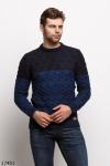 Мужской свитер 17461 темный синий синий