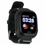 Детские часы GPS трекер Smart Baby Watch Q90, черные