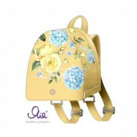 Fashion-рюкзачок Голубые лепестки 210