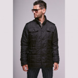 Куртка мужская демисезонная 003 Nikolom черная (Беларусь)