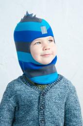 """Шапка-шлем для мальчика """"Дракон"""" (зима), 52-54 см"""