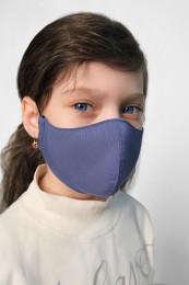 Детская декоративная маска голубой