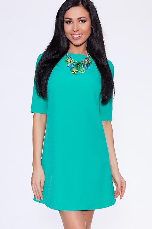 Платье длинное для фигуры яблоко