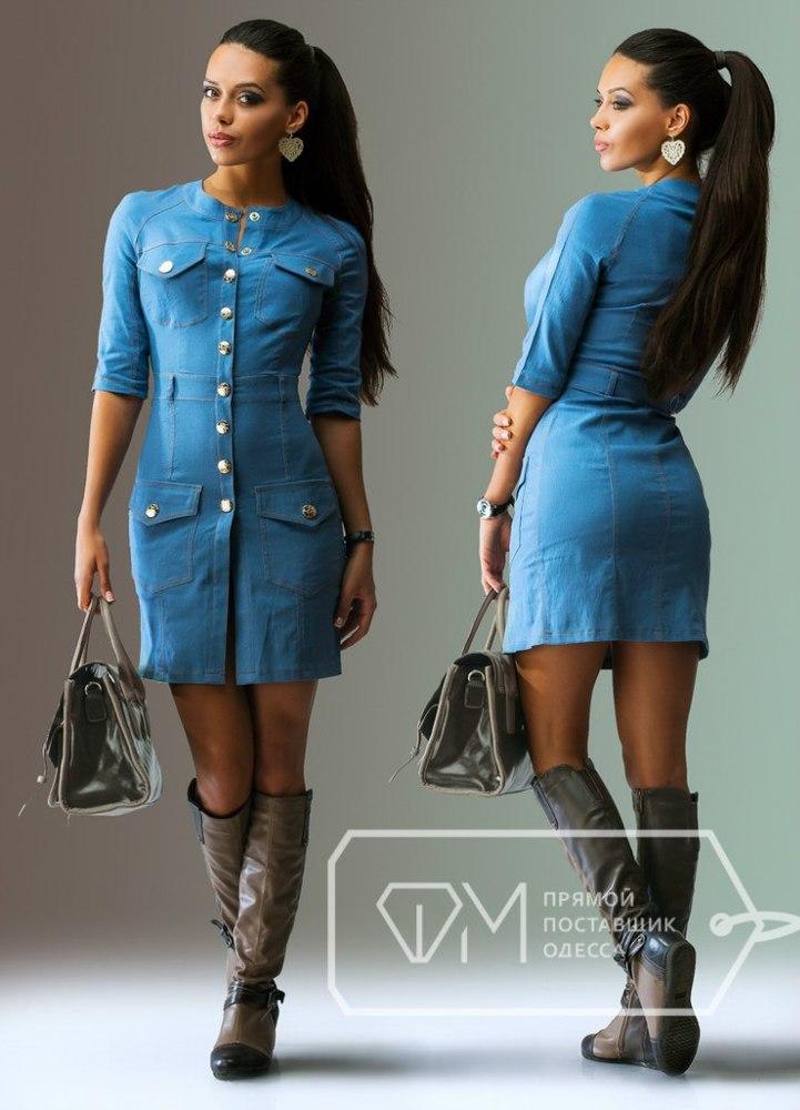 Фото платье под джинс