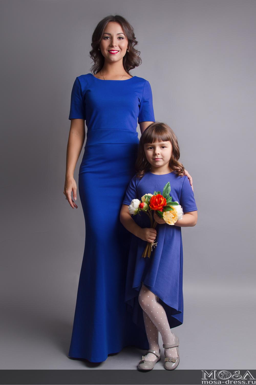 Одинаковые платья для мамы и дочки на свадьбу фото