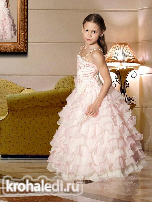 Новая коллекция детских платьев на КрохаЛеди.РУ