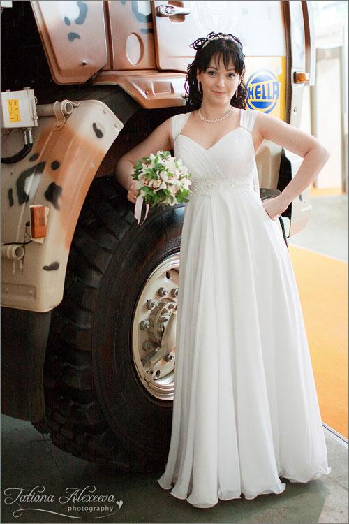 Свадебное платье в греческом стиле. Мск