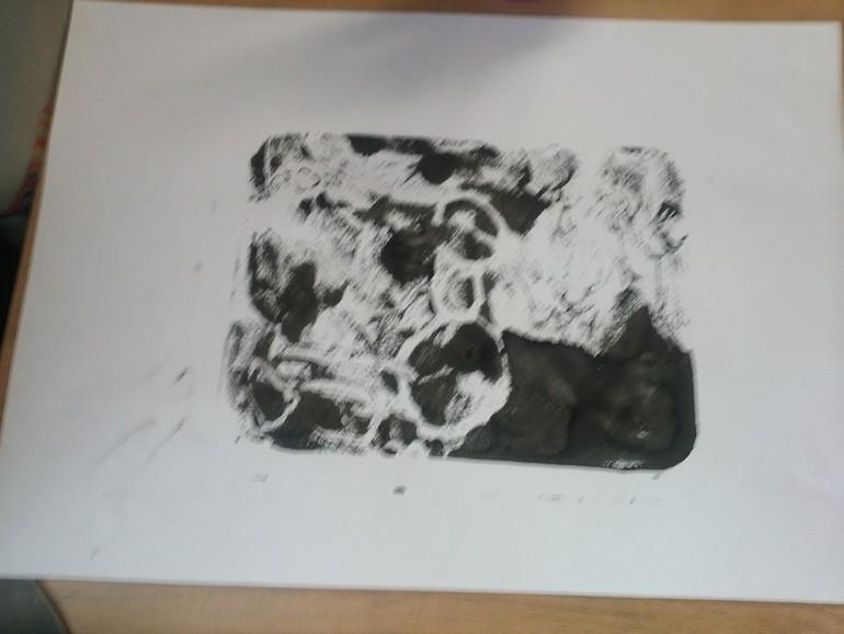 Рисование ватными палочками и отпечатки