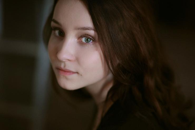 Лиза. Из серии коротких портретных съемок.