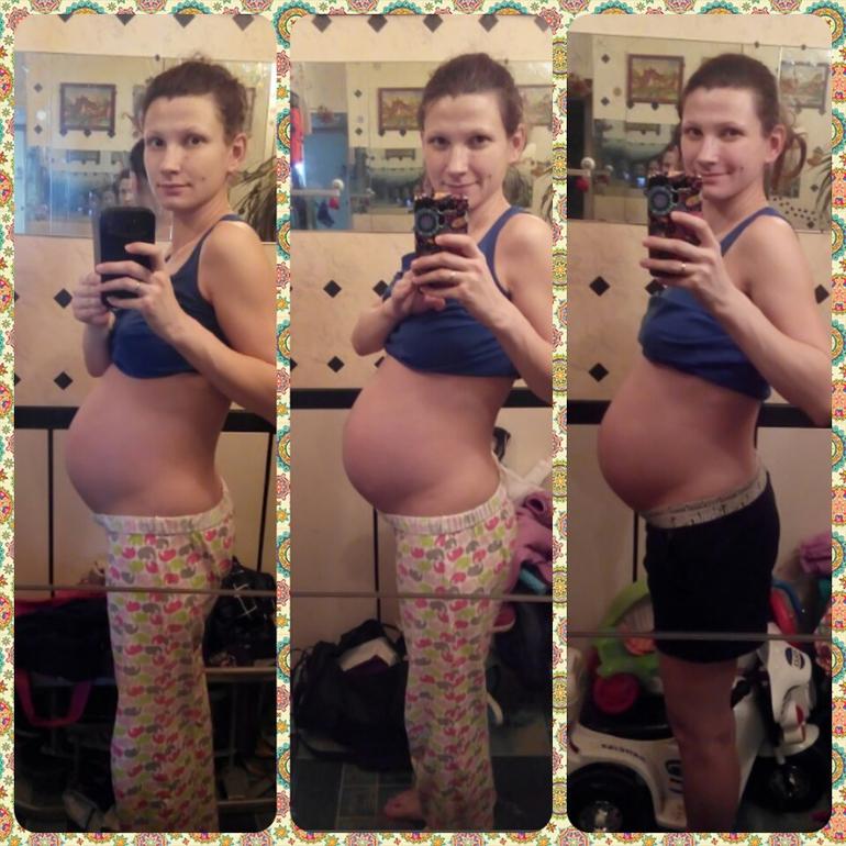 Беременная живот ходит ходуном 92