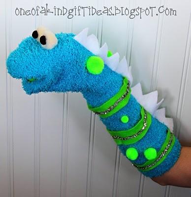 Игрушки на руку из носков своими руками фото