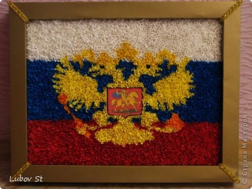 Поделка по символикам россии
