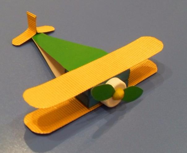 Поделка самолёта своими руками 917