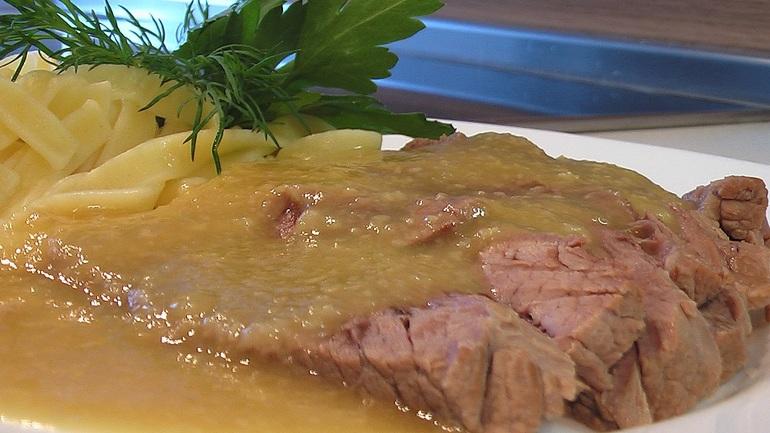 отварное мясо соус рецепт видео
