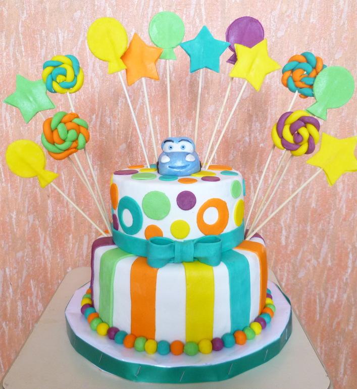Торт для мальчика 2 лет своими руками 60