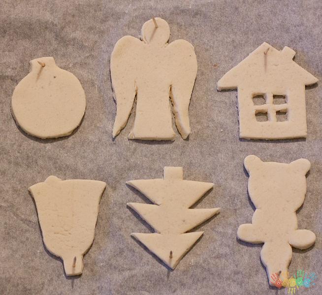 Новогодние игрушки из соленого теста: идеи