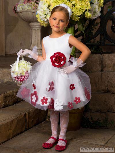 Украшение на платье своими руками детское 54