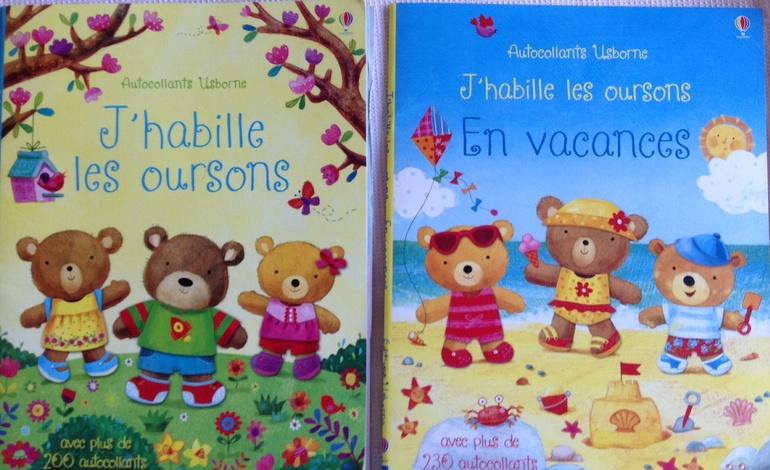 Книжки с наклейками- из Франции