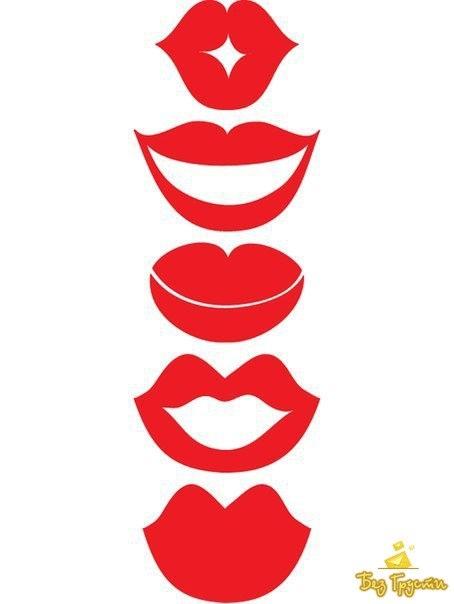 Девочки, помогите с шаблонами усов и губ д/фото сессии.