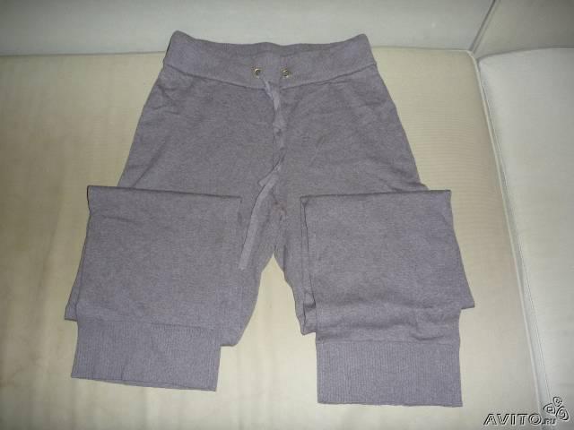 Новые  свободные  брюки  цвет  молочный  шоколад