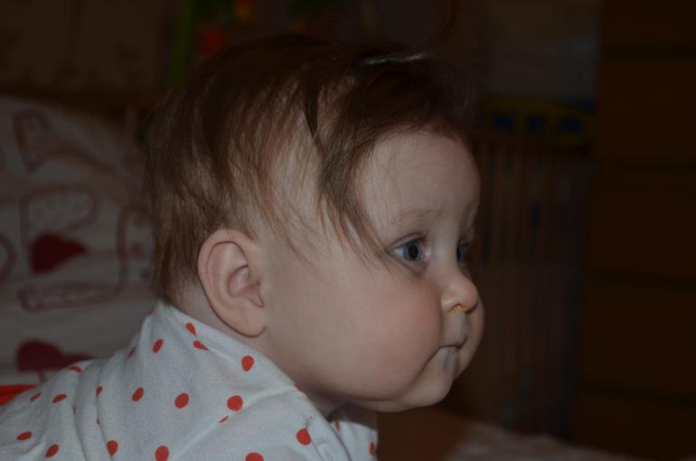 Александрочке  7  месяцев!