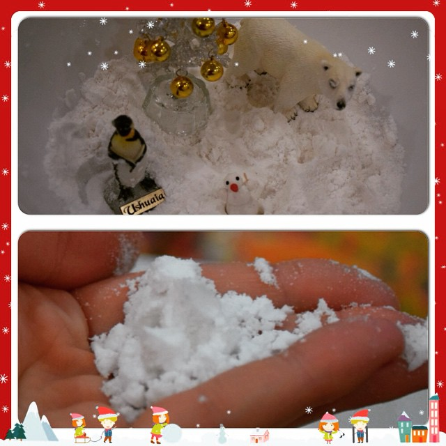 Как сделать свой снег 470