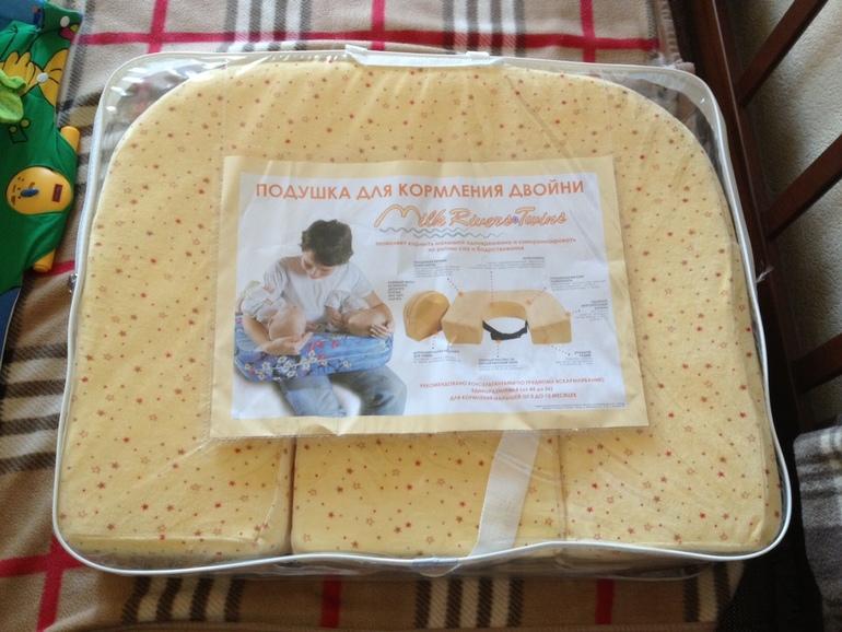 Выкройки подушек для кормления двойни