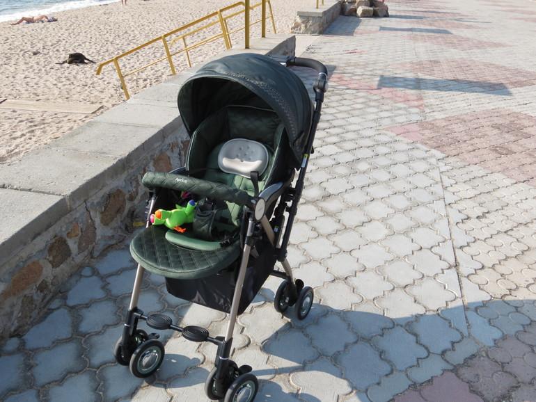 Моя любимая летняя колясочка Aprica Soraria Premium!