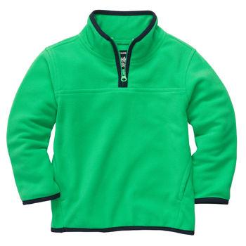 OshKosh джемпер флисовый зеленый