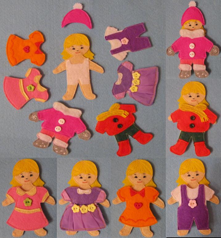 Развивающие кукла своими руками