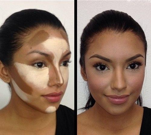 3 д макияж фото
