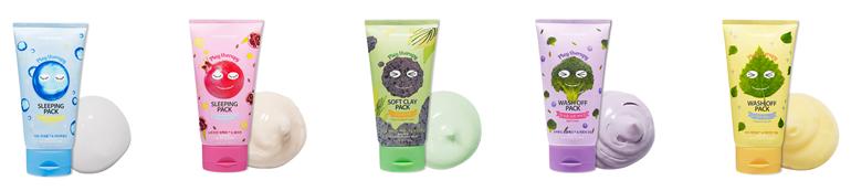 Яркая линейка масок Etude House Play Therapy для весеннего обновления кожи!