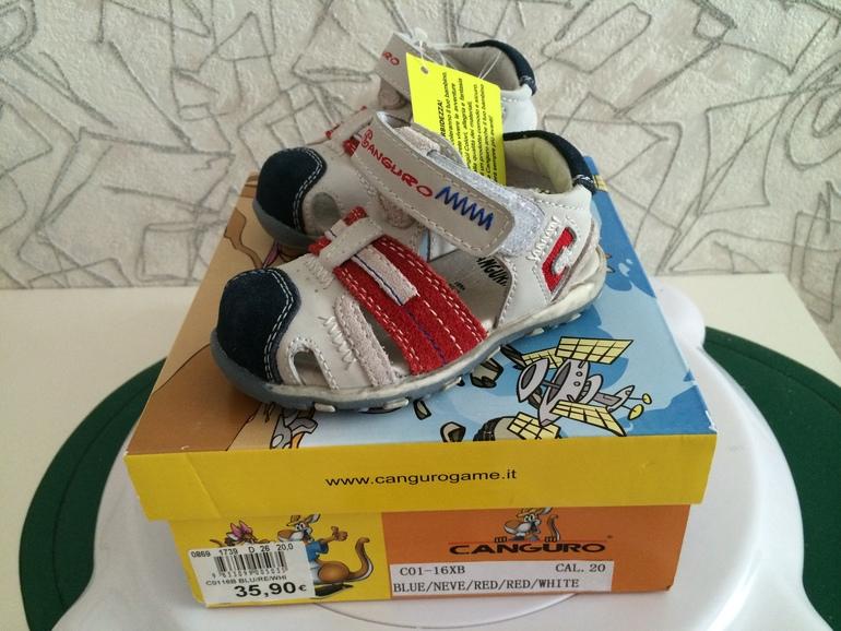 Primigi,  Canguro  новые  итальянские  босоножки  для  мальчика  20  размер.