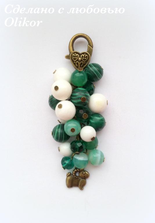 Зеленый камень своими руками 33