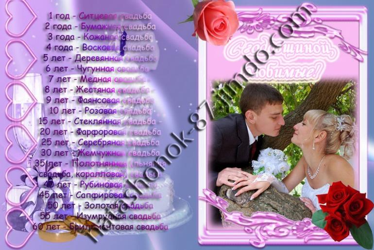 Инсценированные поздравления с днем свадьбы 7