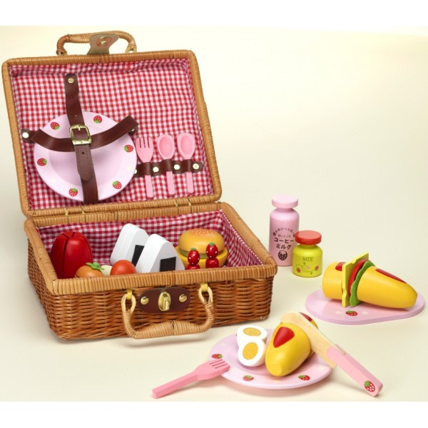Как сделать корзину для кукол на пикник