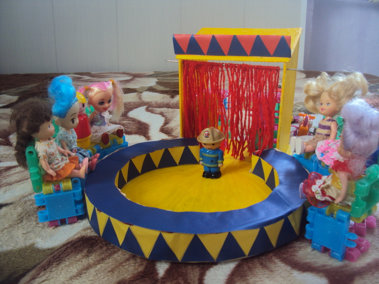 Поделка цирк своими руками