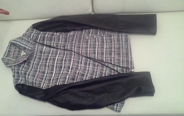 Продам Новый комбинированный пиджак, тренд сезона Фирма RHIME США