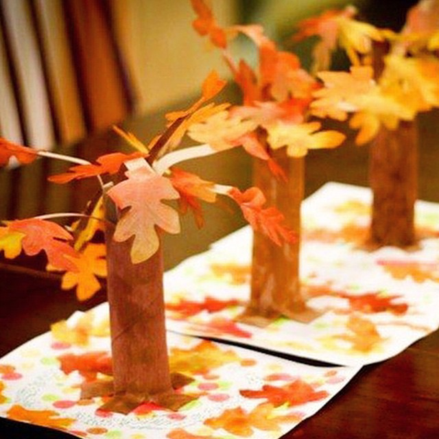Осенний дерево своими руками