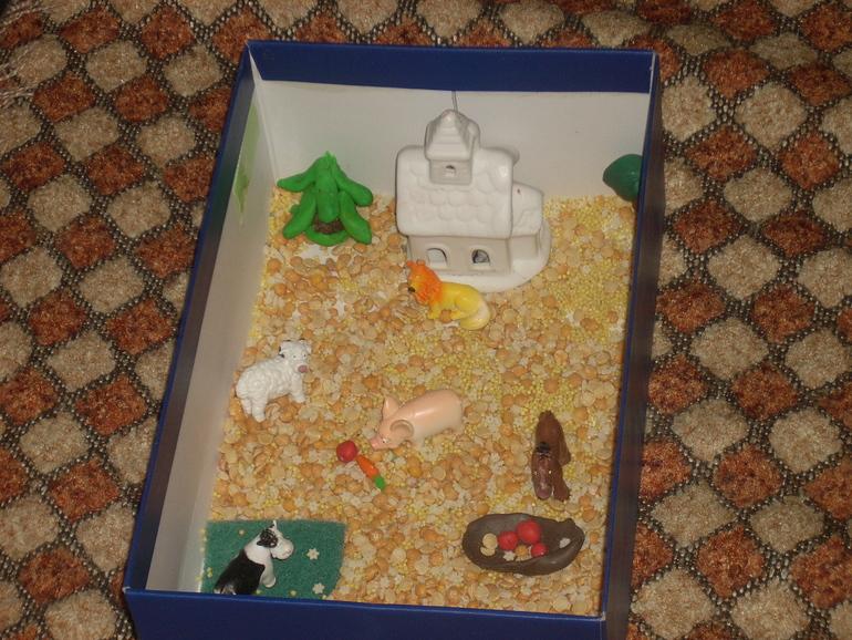 Сенсорные коробки. Балуем Алису