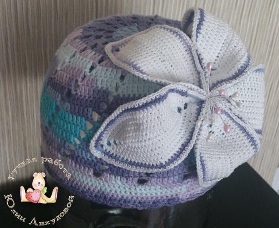 шапочка на весну